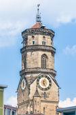 Collegiate Church in Stuttgart, Germany — Stock Photo