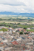 La fresneda vesnice v teruel, španělsko — Stock fotografie