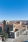 San Vicente Basilica at Avila, Spain — Stock Photo