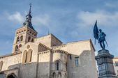 Saint Martin church at Segovia, Spain — Stock Photo
