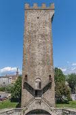 Torre san niccolo w florencja, włochy — Zdjęcie stockowe