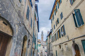 Torre del mangia en siena, toscana, italia — Foto de Stock