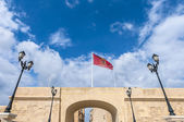 Flaga vittoriosa birgu, malta — Zdjęcie stockowe