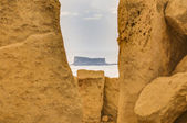 Hagar Qim megalithic temple in Malta — Stock Photo