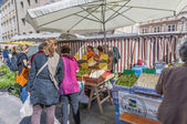 Market at Salzburg, Austria — Stock Photo
