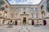 Vilhena pałac w mdina, malta — Zdjęcie stockowe