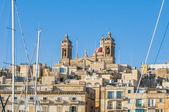Basílica de senglea en malta. — Foto de Stock
