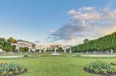 Mirabell Garden (Mirabellgarten) at Salzburg, Austria — 图库照片