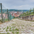 Esslingen am Neckar views from Burgsteige near Stuttgart, German — Stock Photo