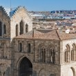 San Vicente Basilica at Avila, Spain - Stock Photo