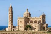 Ta' Pinu church near Gharb in Gozo, Malta — Stock Photo