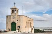 Chapel facade in Selmun, Malta — Stock Photo