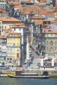 Porto skyline from Vilanova de Gaia, Portugal — Stock Photo