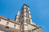 Church of Saint Dionysius in Esslingen am Neckar, Germany — Stok fotoğraf