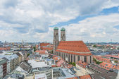 Frauenkirche, the cathedral of Munich, Germany — Stock Photo