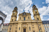 The Theatinerkirche St. Kajetan in Munich, Germany — Stock Photo