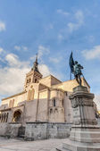 Saint Martin church at Segovia, Spain — Foto Stock