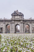 Puerta de Alcala at Madrid, Spain — ストック写真