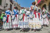 Ball de Gitanes at Festa Major in Sitges, Spain — Stock Photo