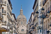 Alfonso I street at Zaragoza, Spain — Stock Photo