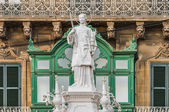 Saint Lawrence at Vittoriosa Square in Birgu, Malta — Stockfoto