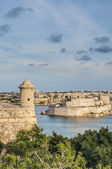 Fort Lascaris Bastion in Valletta, Malta — Stock Photo
