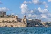 Memorial do grande cerco em valletta, malta — Fotografia Stock