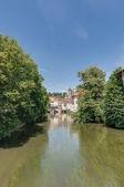Ross Neckar Canal in Esslingen am Neckar, Germany — Stock Photo