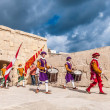 In GuardiParade at St. Jonh's Cavalier in Birgu, Malta. — Stock Photo #33169623