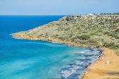 Ramla Bay, on the northern side of Gozo, Malta — Stock Photo