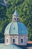 The Salzburg Cathedral (Salzburger Dom) at Salzburg, Austria — Stock Photo