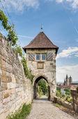 Neckarhaldentor in Esslingen am Neckar, Germany — Stock Photo