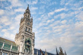 Neues Rathaus building in Munich, Germany — Stockfoto