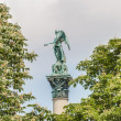 Jubilee Column at Castle Square in Stuttgart, Germany — Stock Photo