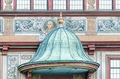 Municipio piazza del mercato a tubingen, germania — Foto Stock