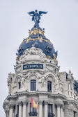 Metropolis building at Madrid, Spain — Stock Photo