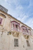 Inguanez house in Mdina, Malta — Stock Photo