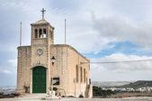 Kapell fasaden i selmun, malta — Stockfoto