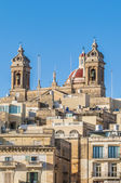 Basilica of Senglea in Malta. — Stock Photo
