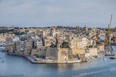 Fort Saint Michael in Senglea, Malta — Stock Photo