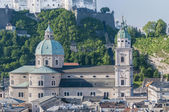 The Salzburg Cathedral (Salzburger Dom) at Salzburg, Austria — Photo