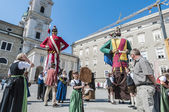 Salzburger Dult Festzug at Salzburg, Austria — Stock Photo
