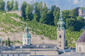 Saint Peter's Archabbey at Salzburg, Austria — Stock Photo