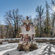 Stock Photo: Cascade fountain at LGranjPalace, Spain