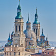 Stock Photo: Our Lady of Pillar Basilicat Zaragoza, Spain