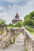 Esslingen am Neckar Castle's Big Tower, Germany — Stockfoto