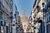 Alfonso I street at Zaragoza, Spain — Stockfoto