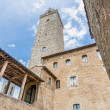 Stock Photo: City-hall building in SGimignano, Italy