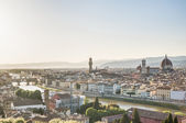 Florence's as seen from Piazzale Michelangelo, Italy — Stock Photo
