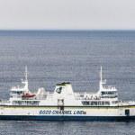 kanaal lijn veerboot in malta — Stockfoto